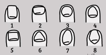 從這8個指甲挑出與你指甲形狀最吻合的,就會透露出你所不知道的內在性格!