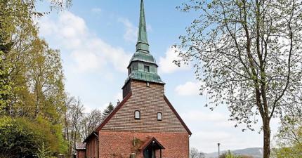 這座教堂外表看似很普通,但等你踏進裡面...你就會賴皮不想走了。