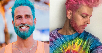 看過這些彩色頭髮型男後,你就會對著旁邊造型單調的男生大翻白眼!