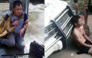 中國村民抓到這些可惡的殺狗竊賊後,對他們施以的酷刑就是給所有偷狗賊的終極警告。