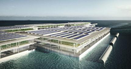 2050年預計全世界人口將達91億,而這個海上新建築就是拯救全人類所需的希望!