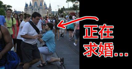 12張因為陌生人正好經過假裝慢跑的爆笑「亂入照片」。你假裝跑快點也沒有更快Okay?!