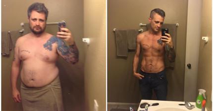 19張減肥前後的劇烈對比圖,讓你再也找不到理由接受繼續胖胖的命運!