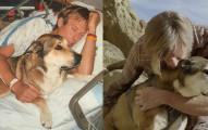 十年前這隻狗狗陪伴主人度過癌症低潮,十年後狗狗得了癌症而主人為他做的事情讓我泣不成聲...