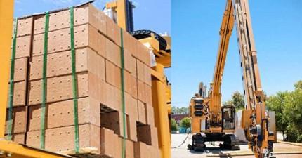 看這台砌磚造房機器人怎麼在2天蓋好一間房,讓建商都要嚇壞了!