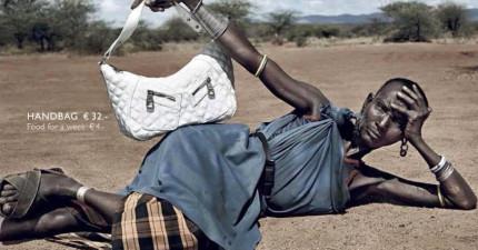 當超級名模全都換成這些非洲貧民時,背後的意義會讓你反思生命中的每一天。