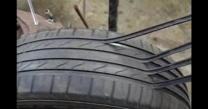 看過他怎麼把舊輪胎翻新,你下次買輪胎時都會膽戰心驚!