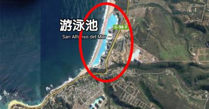 全世界最大「跟小鎮一樣大的豪華游泳池」狂大到你會游到中途直接昏過去。