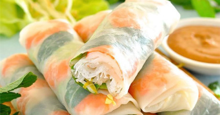 夏天快到了,6個步驟捲出超美味爽口的越南生春捲!