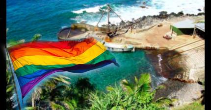 這座全世界人口最少的小島也合法同性婚姻了!卻發現其實島上...根本沒有同性戀族群?!