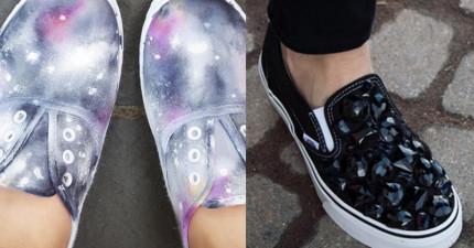 別再浪費錢買造型款的鞋子了!用這13招把鞋子改造成讓你朋友超羨慕的經典吧!