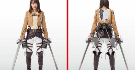 有人在日本的7 11便利商店看到有在賣《進擊的巨人》裡的立體機動裝置?!