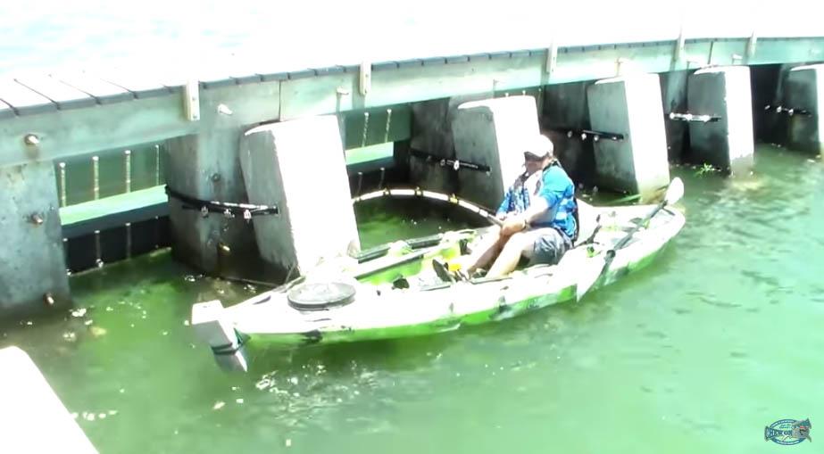 這名釣客忽然感覺釣竿異常沈重甚至整個艇晃動,在奮力抗戰後...浮出水面的東西嚇壞了所有人。