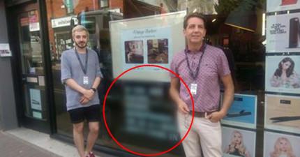 無禮父親拒絕「讓同性戀剪兒子頭髮」,於是髮廊老闆就在門口貼上超霸氣標語請「某種」客人不要光顧!
