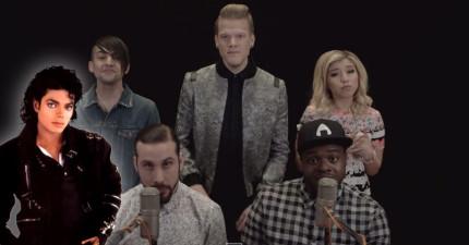 當這5個人開始唱歌時,超愛「麥克傑克遜」的我馬上全身雞皮疙瘩!