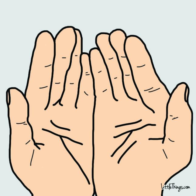 張開雙手,用手相這4條線來窺探你的性格和未來吧!