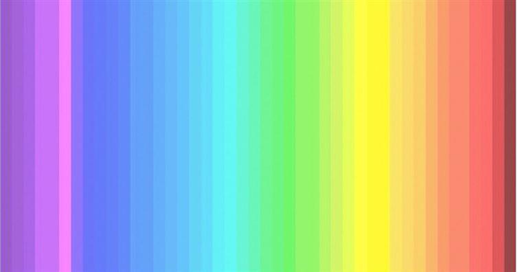 世上只有25%的人才看得到這個測驗中所有的顏色,快來數一數你到底能看出幾種吧!