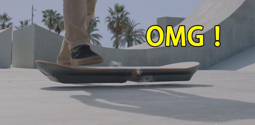 Lexus終於發明出所有人都會超愛的無敵發明了!- 漂浮滑板!