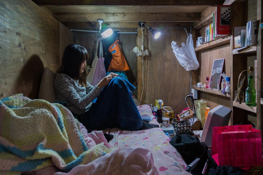 很多人都知道日本東京的居住空間超小,但你有看過這麼小的嗎?!