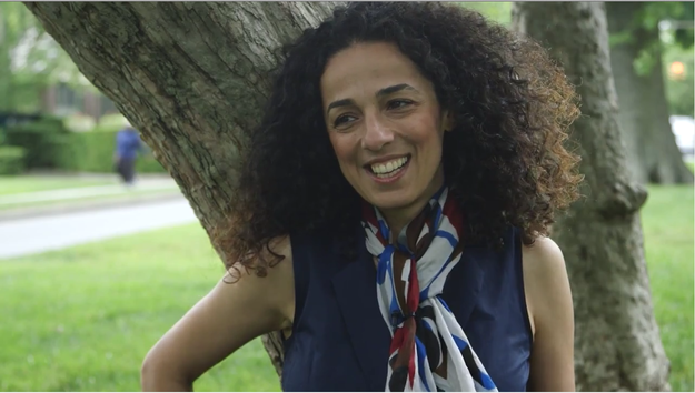 This is Masih Alinejad, an Iranian journalist who is an advocate and activist for religious freedom and women's rights.