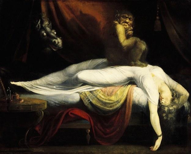 13個關於你「半夜醒來被鬼壓床」的最驚悚醫學事實。