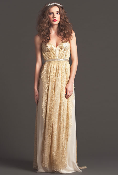And this pretty gold number.
