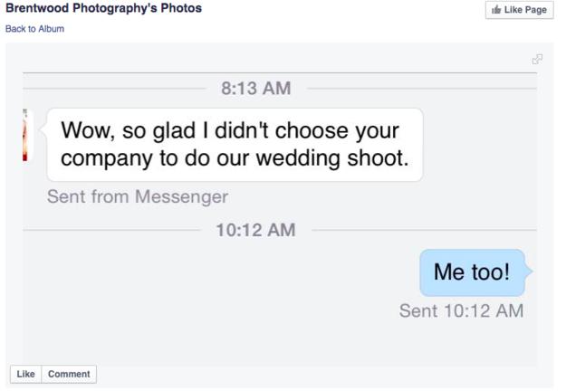 攝影師因支持婚姻平權而遭客戶嗆聲解約,但他勇敢的回覆反而博得了上萬喝采。