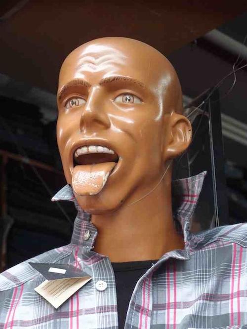 10個認為你沒有它們有型的超荒謬人型模特兒!