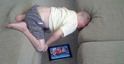 最新研究顯示:先別怕傷視力了!越早玩平板的小孩會比其他小孩成長得更快!