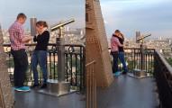 這對神秘情侶在艾菲爾鐵塔訂婚,沒想到竟掀起了全世界最大規模的肉搜!