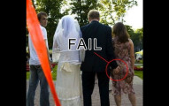 44張「完全不該被留下來」的超糗結婚照片。
