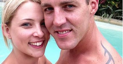 女友搭乘遊輪疑似要試探男友誠意卻失足落海,結果沒想到把兩人都害死了...