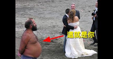 11個「答應陪別人一起參加陌生人的婚禮」都會有的內心尖叫。