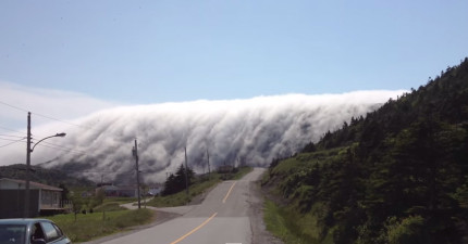 當霧在山上翻滾時,就會是你看過最美但恐怖的景象。