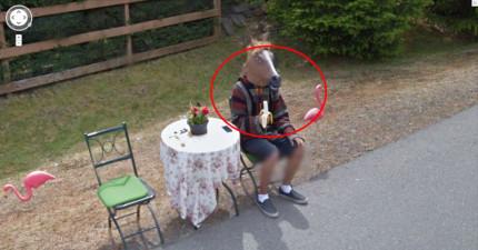 32次Google街景視圖完全侵犯了人們的超怪異隱私。