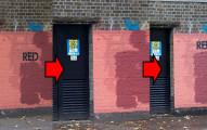 有一整年很多人都會注目在這面紅色牆上出現的訊息...因為真的太有趣了啦!