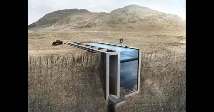 這座面向愛琴海的超美豪宅,準備讓你的心直接掉進懸崖裡頭吧!