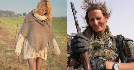 這位名模媽媽捨棄舒適生活投入殲滅萬惡ISIS,透露她在大腦旁用餐的恐怖經歷!