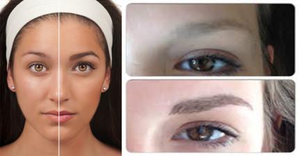 最近瘋起了「接眉毛」的熱潮,在你看過一些例子之後就會瘋狂愛上!