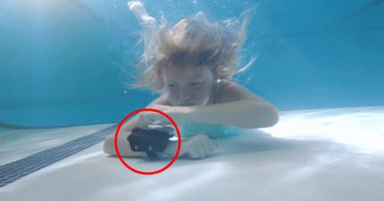 這個一秒炸開的救命手環可以讓你永遠放心安全去戲水!