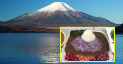 5個會讓你超想要旅遊的「旅遊景點特製咖哩飯」,當你舉起筷子會發現...咦?是要爬富士山?!