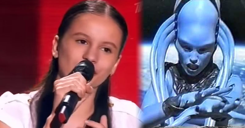 這個亞美尼亞小女孩一開始唱我就覺得很不錯了,但到了1:00時你也會爆掉。