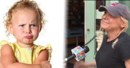 這位餐廳老闆因為「對店內的2歲小孩大吼」而獲得全世界網友的大力稱讚!