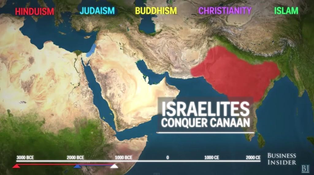 用短短2分鐘看完「世界5大宗教」的不可思議發展和變遷!