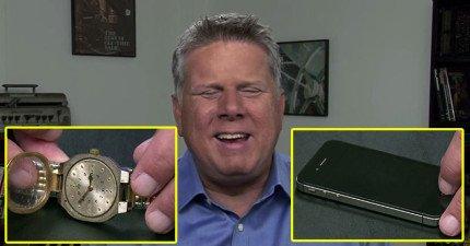 這位視障攝影師要揭曉讓所有人知道他是怎麼「看」時間的!