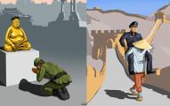 16張諷刺各國警察「藐視人權」的超中肯插畫。