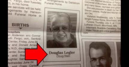 這位85歲老先生剛剛離開人世,但他「只有2個字」的訃文卻讓人們開心地笑了!