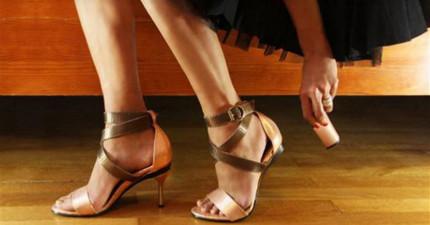 終於有人發明出可調整「高跟鞋後跟」的鞋來拯救所有女人了!