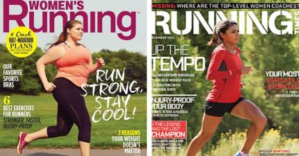 今天很多人看到運動雜誌封面上的模特兒「首次變成大尺碼模特兒」,全都找回了跑步的勇氣!