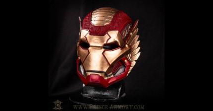 當你把鋼鐵人盔甲變成阿斯嘉特風格時,你就會發現之前的鋼鐵人盔甲設計都還不夠帥